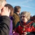 Llanfyllin town Mayor Ann Williams