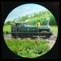 58 Railway Train behind Bwlchycocsydd