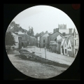 71 Llanfyllin High St before the river was covered