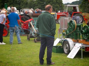 Llanfyllin Show 2013 agricultural machinery