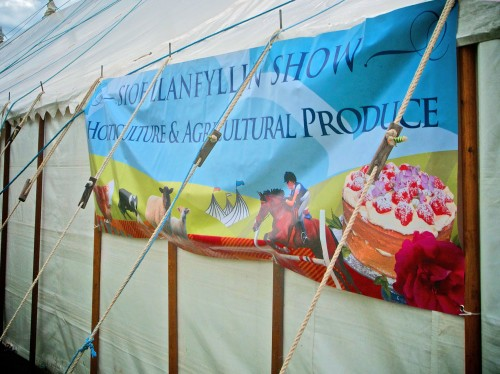 Llanfyllin Show banner