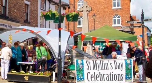 St Myllin's day 2013