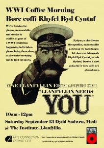 WWI Llanfyllin Poster sm