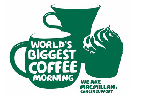 Worlds biggest coffee morning Macmillan