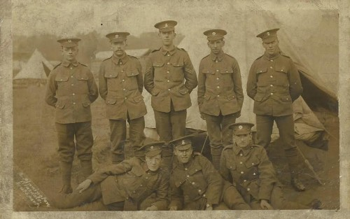 Edward Edwards - back row second from left